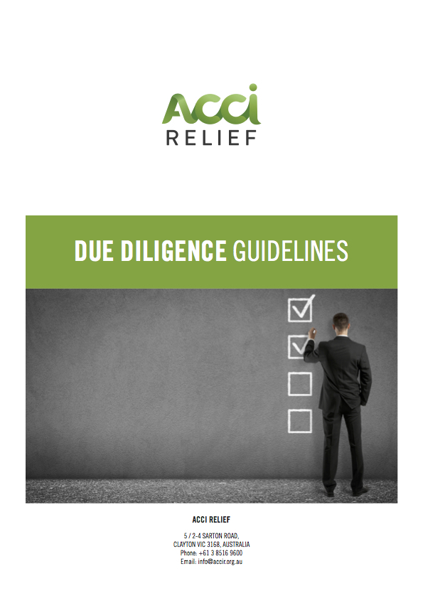 Due Diligence Guidelines