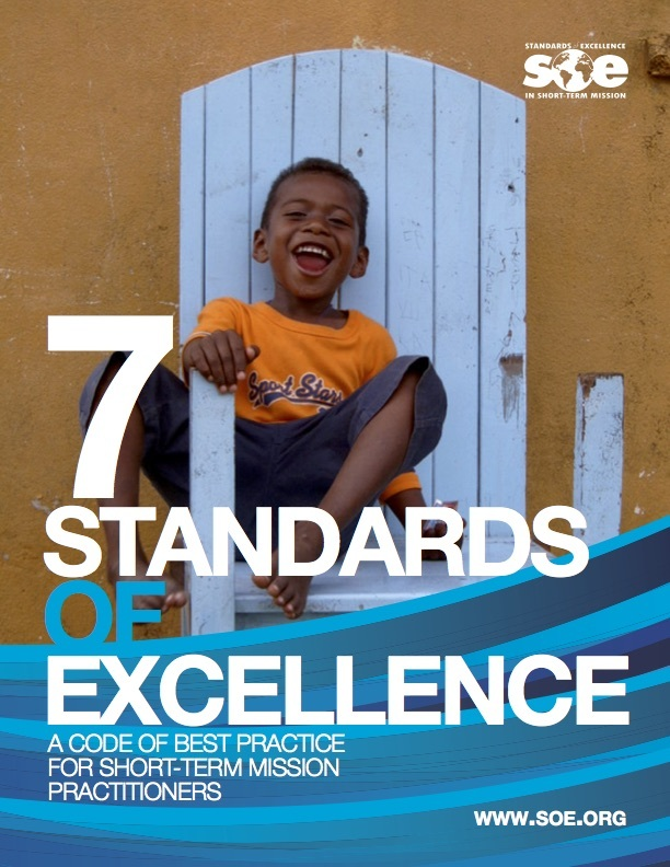 Standards of Excellence in Short-Term Mission